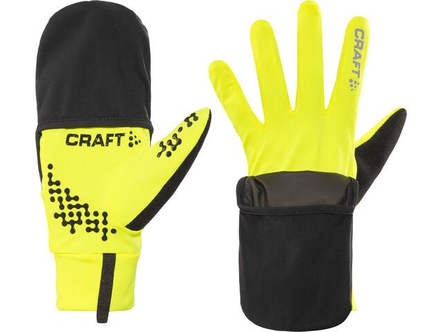 Craft Hybrid Weather Gants, flumino/black